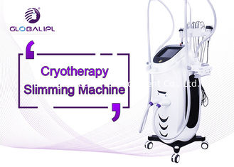 Body Sculpting Cryolipolysis Machine Wind / Water And Semiconductor Cooling System
