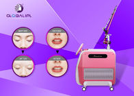 Painless ND YAG Laser Tattoo Removal Machine 1064nm / 532nm Wavelength