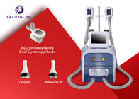 3 In 1 System Fat Removal Cryolipolysis Machine With 8.4 Inch Color Touch Screen Display