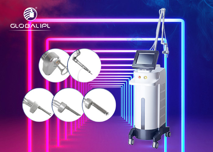 Air Cooling 50W 10600nm CO2 Fractional Laser Machine For Skin Resurfacing