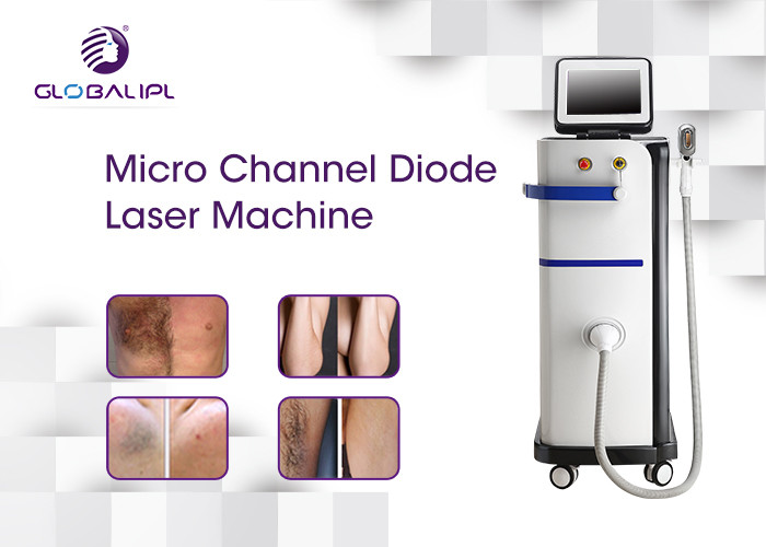 High Power 808nm Diode Laser Epilation Machine Permanent Hair Removal