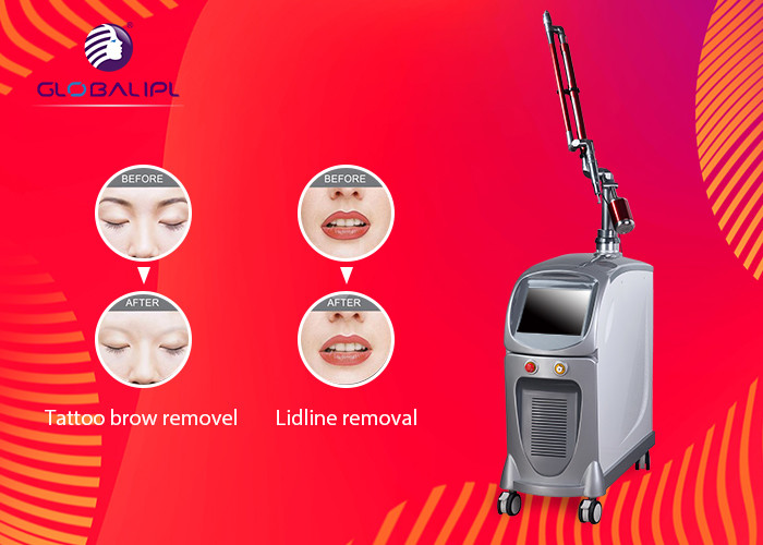 1064nm / 532nm ND YAG Laser Machine For Skin Rejuvenation / Pigment Removal