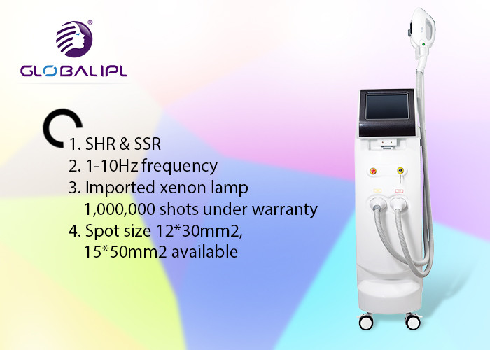Skin Tightening Ipl Shr Hair Removal Machine For All Skin Types 4000W