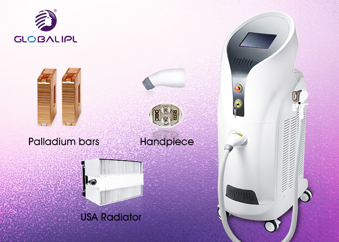 808nm Diode Laser IPL Hair Removal Machine New Designed Integrated Handpiece