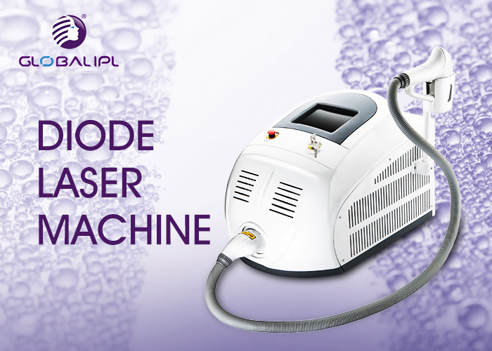 Portable Germany 808nm Diode Laser Hair Removal Machine 5 - 400ms Adjustable Pulse Width
