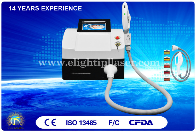 Wrinkle Removal E Light IPL RF System 7.4 Inch Color Touch LED Screen